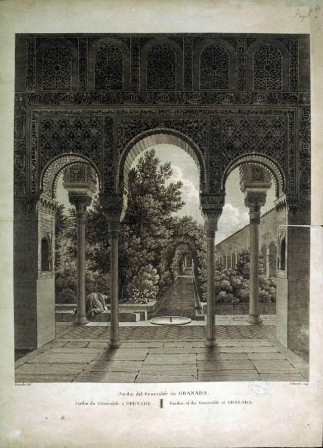 Schwartz_Jardin_del_Generalife_en_Granada__Jardin_du_gnralife__Grenade__Garden_of_the_generalife_at_Granada