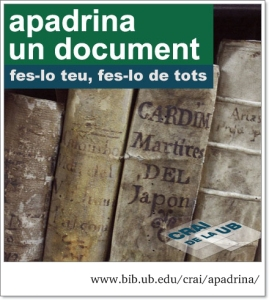 Logotip d'Apadrina un document