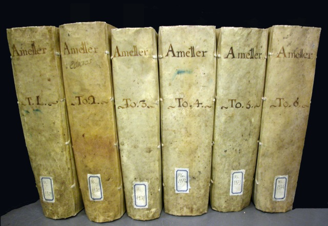 6 volums de l'arxiu Ametller