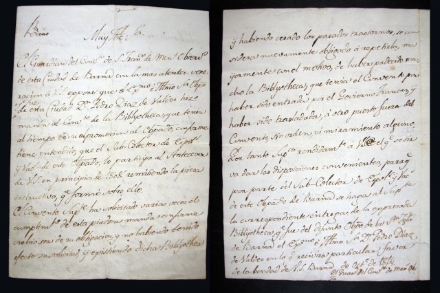 carta 1814 dins de Ms 1505
