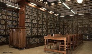 Fotografia de la Sala de manuscrits