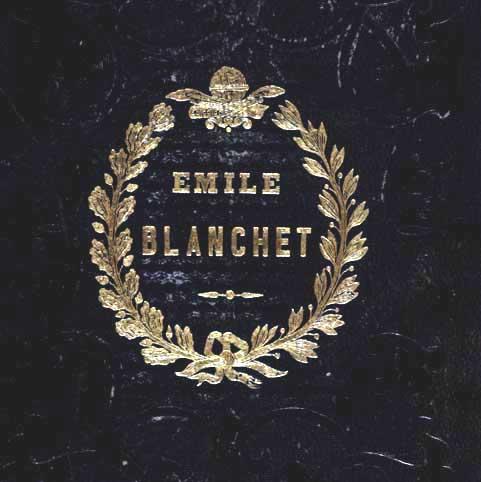 supralibros Émile Blanchet
