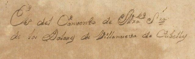 ex-libris convent Ntra. Sra. Dolors