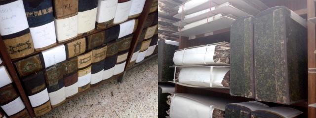 Figura 6. Caixes i carpetes que contenen els documents del fons de portades soltes